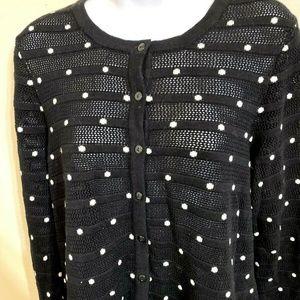 Charter Club Cardigan Sweater Size 1X A3E